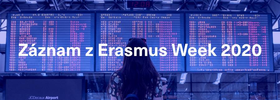 Prošvihl jsi Erasmus Week?