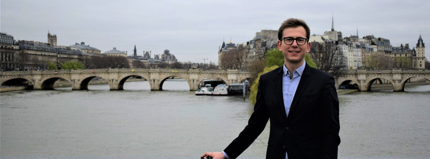 """Thanks to Erasmus+ I spent an extended period in Paris, which was always my dream."""